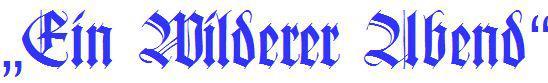 blauer-Schriftzug
